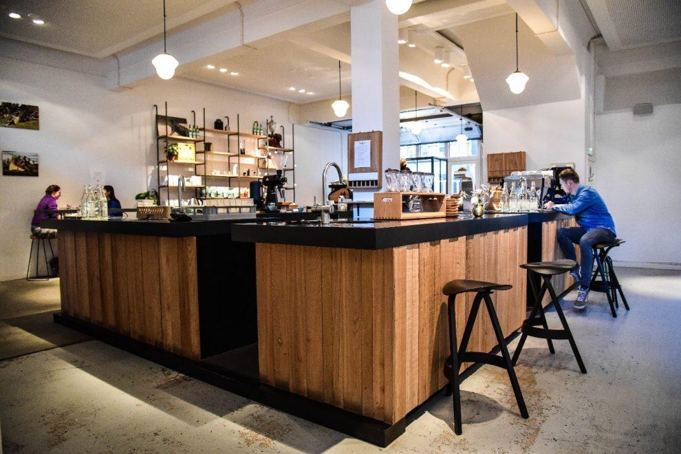Koffiebars in Amsterdam. de beste koffie koffiebar van Amsterdam. Bocca Coffee