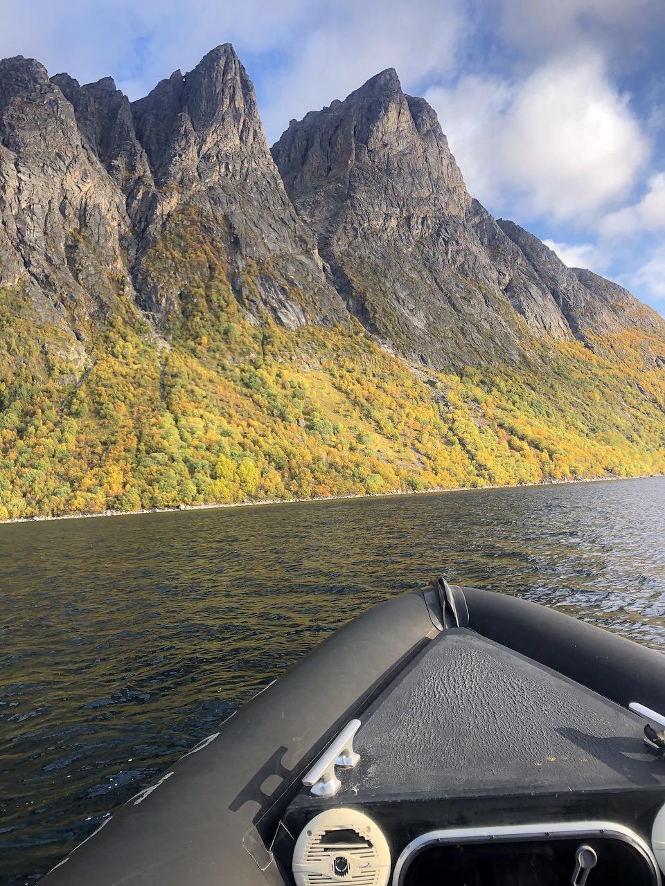 Harstad Noorwegen: Viking geschiedenis & RIB boat-tour langs de fjorden.