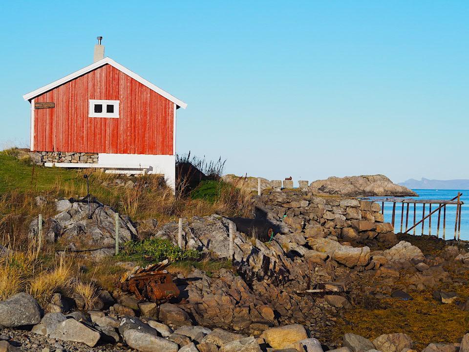 Vakantie Vesterålen Norway - lofoten eilanden - bezienswaardigheden  -  Øksnes Vestbygd - Sto - Noorse Cabin slapen