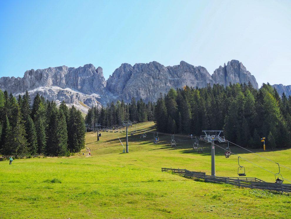 Vakantie naar Zuid Tirol, Dolomieten in de zomer - Rosengartengruppe - liften en bereikbaarheid