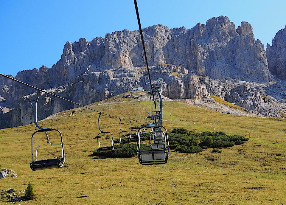 Vakantie naar Zuid Tirol, Dolomieten in de zomer - Rosengartengruppe -  Vajolet Towers