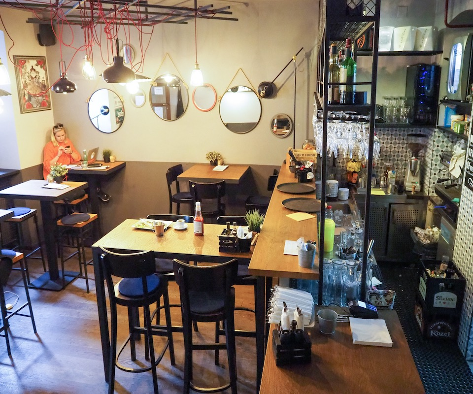 Stedentrip Zagreb - tips - kroatie - kaart Zagreb - eten en drinken in Zagreb  - Otto & Frank
