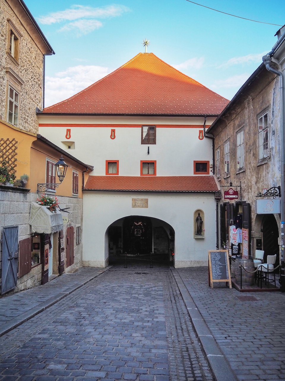 Stedentrip Zagreb - tips - kroatie - kaart Zagreb - Stone Gate; een heilige doorgang