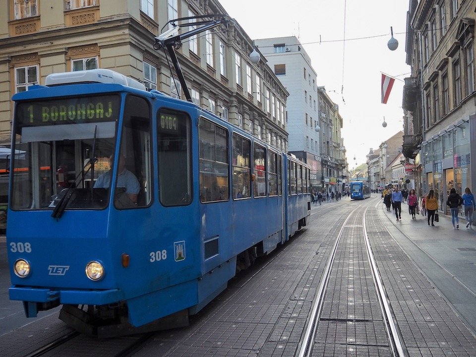 Stedentrip Zagreb - tips - kroatie - kaart Zagreb - shoppen in Zagreb