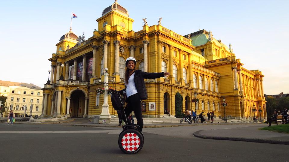 Stedentrip Zagreb - tips - kroatie - kaart Zagreb - Zagreb segway citytour