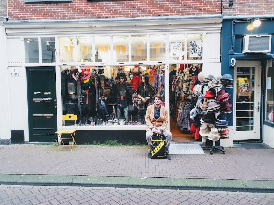 Vintage en tweedehands winkels in Amsterdam centrum - Vindit