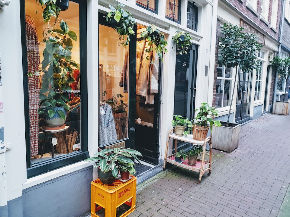 Vintage en tweedehands winkels in Amsterdam centrum - Vintage Jungle