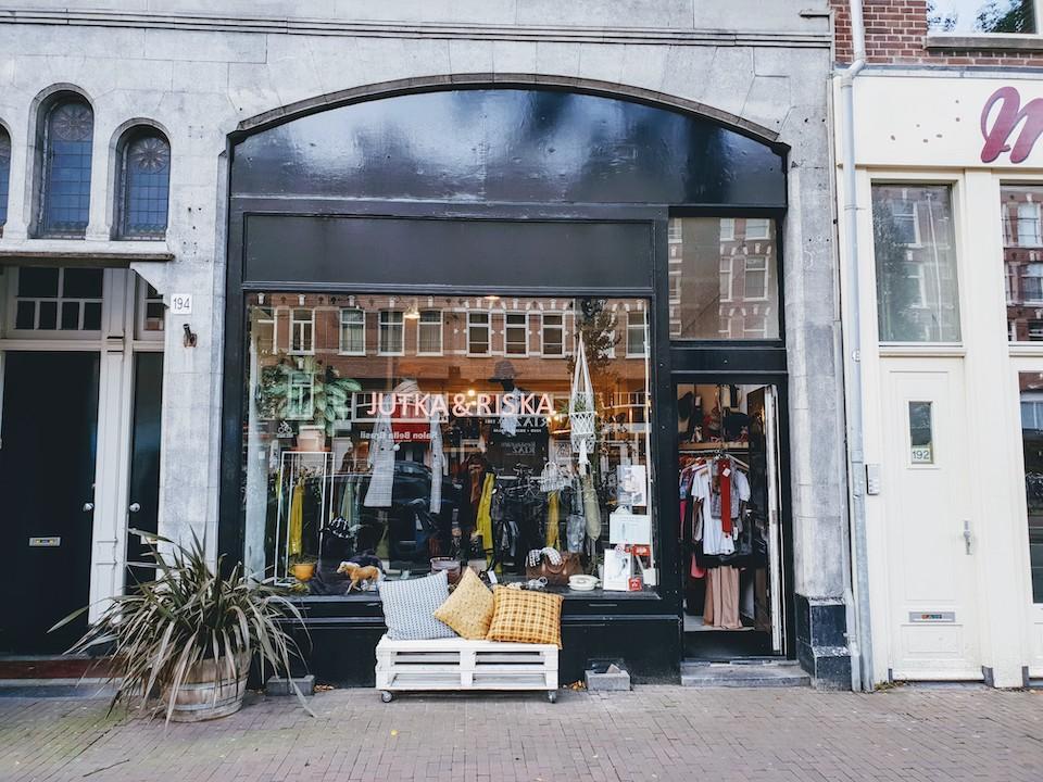 Vintage en tweedehands winkels in Amsterdam centrum - Jutka & Riska