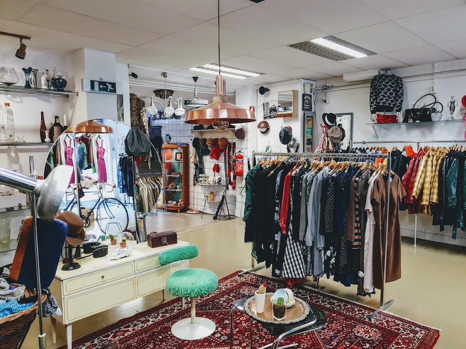 Vintage en tweedehands winkels in Amsterdam centrum - Sam Sam