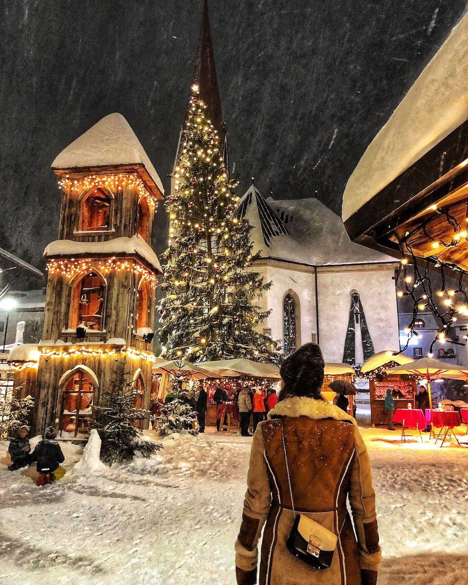 Seefeld in Tirol - skigebied -  wintersportgebied in de Oostenrijkse Alpen - eten en drinken Seefeld - Chloe Sterk - kerstmarkt
