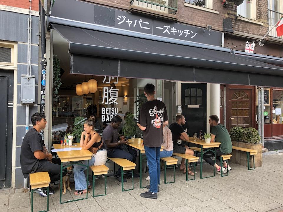 Betsubara Amsterdam; ramen en aziatische hapjes - vegan ramen - beste ramen van Amsterdam