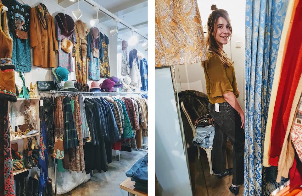 Vintage en tweedehands winkels in Amsterdam centrum - Laura Dols