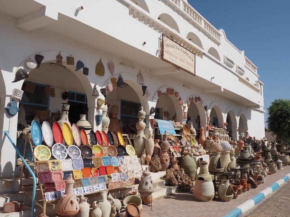 Tunesië: bezienswaardigheden langs de kust + tips. Vakantie Djerba - pottenbakkersdorp Guellala