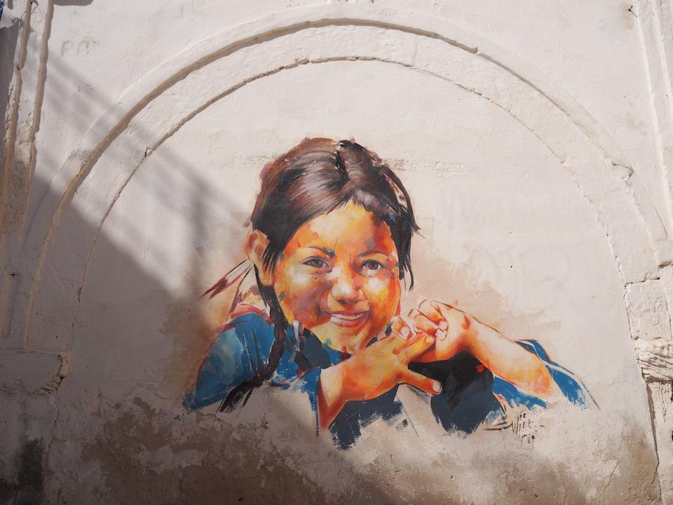 Tunesië: bezienswaardigheden langs de kust + tips. Vakantie Djerba - muurschilderingen in de wijk Erriadh