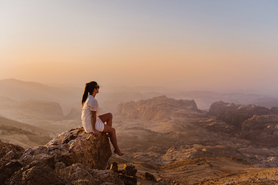 Wereldwonder Petra in Jordanië bezoeken.