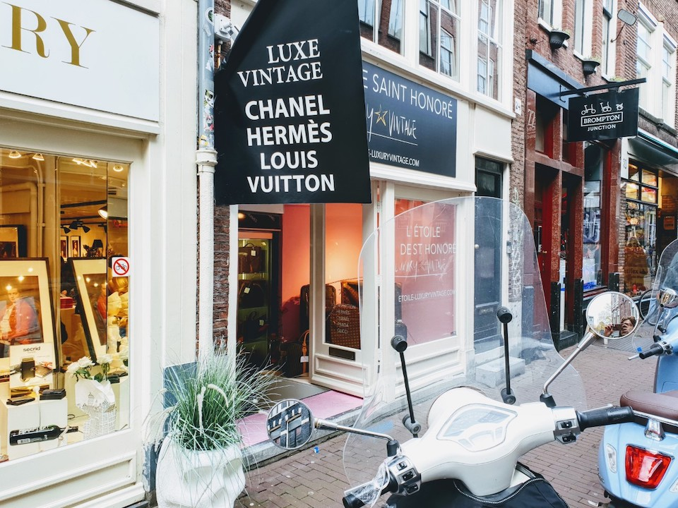 Vintage en tweedehands winkels in Amsterdam centrum - L'Etoile de Saint Honoré