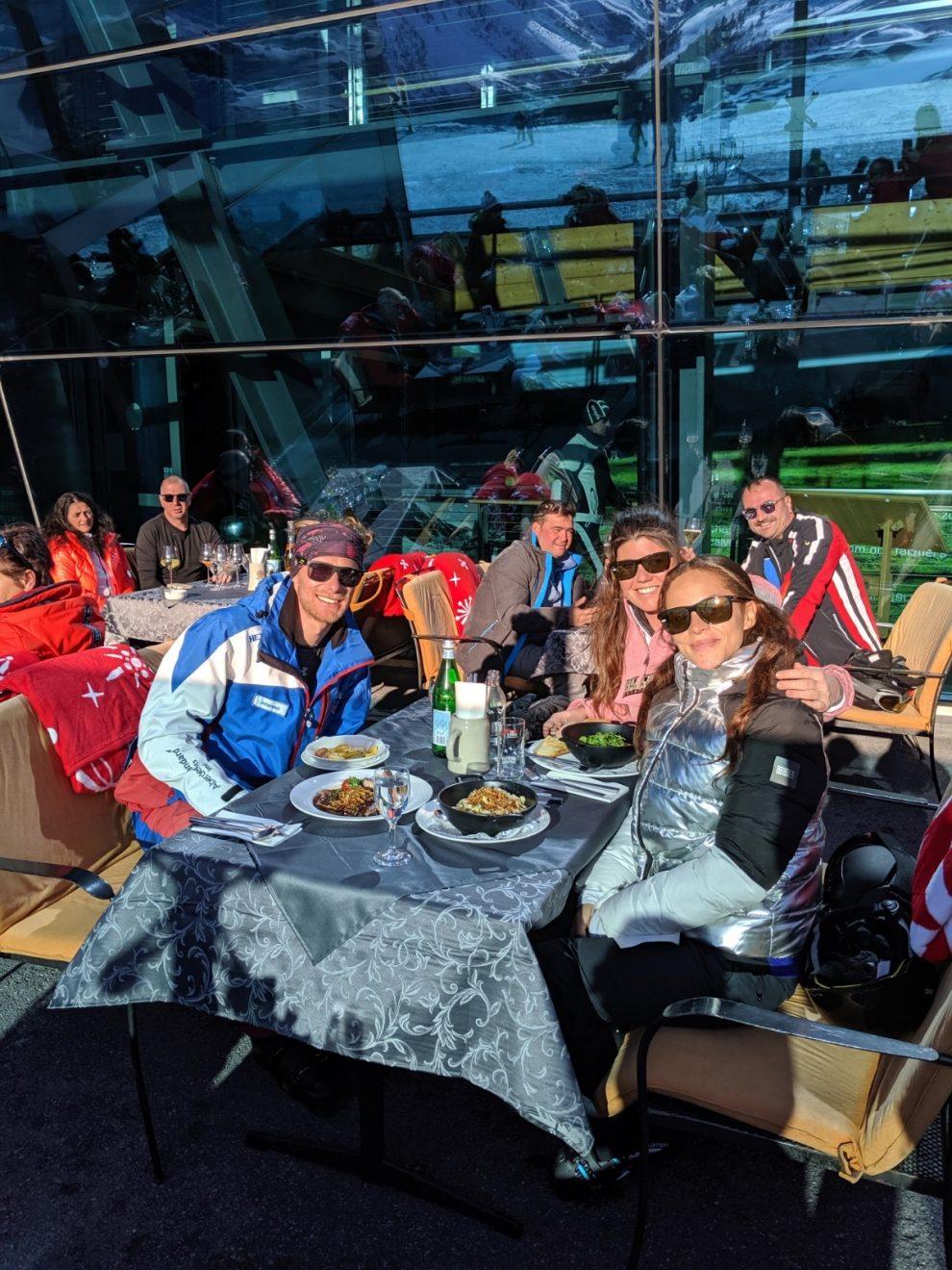 beste berghut van Ischgl - Pardorama - eten op de piste in Ischgl