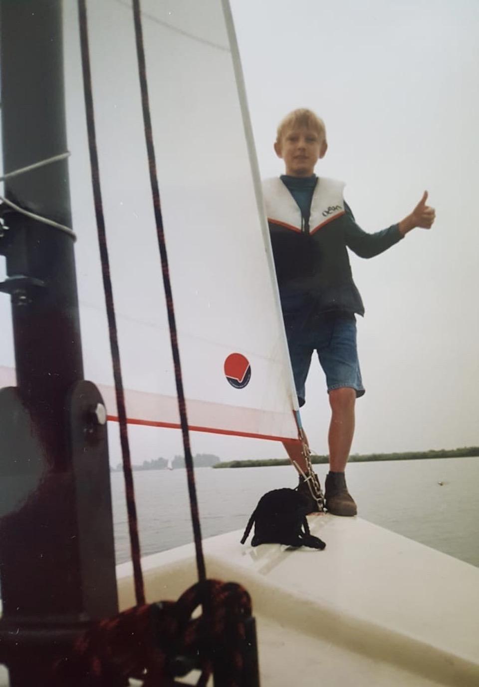 duurzame initiatieven amsterdam, zeedrift door de sailing TAXI Tom de Ruyter