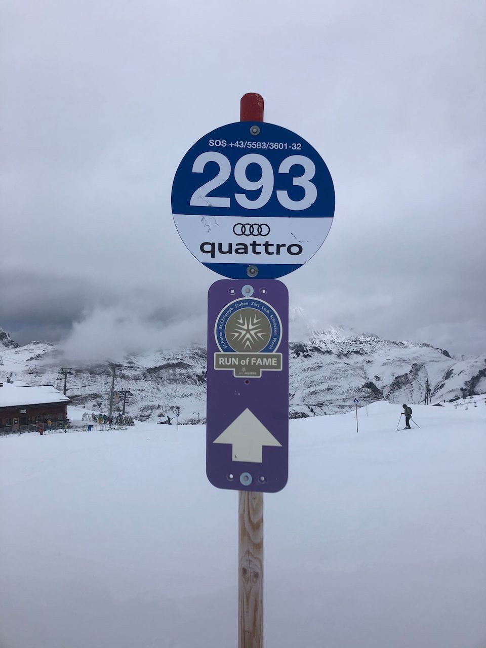 Sankt Anton am Alberg, wintersport Chloe Sterk Oostenrijk, alle tips . Skien van Sankt Anton naar Lech , Run of Fame