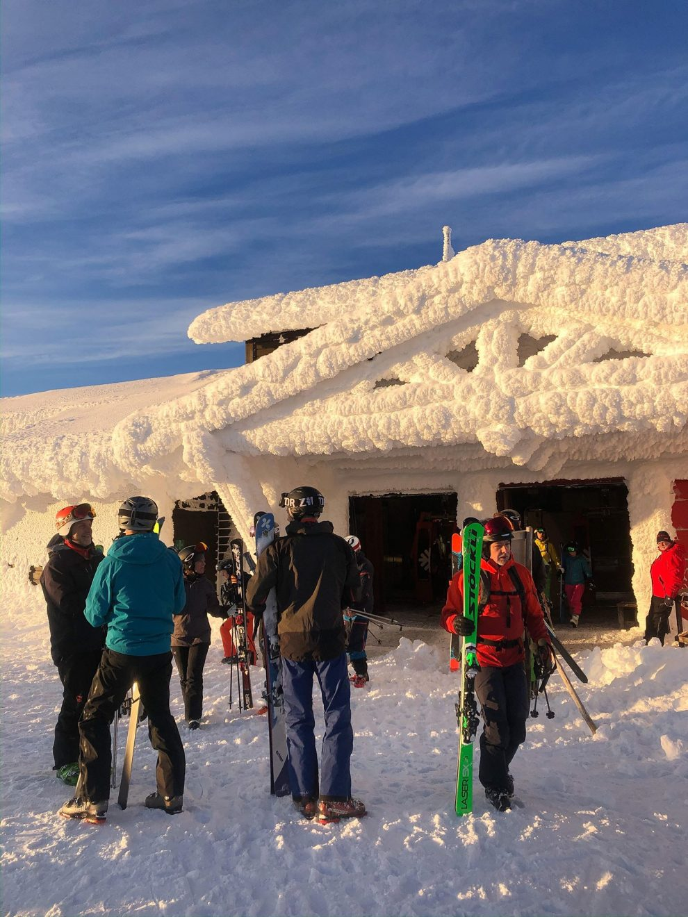Skistar Åre topp platå - Wintersport Åre Zweden - beste skigebied van Zweden