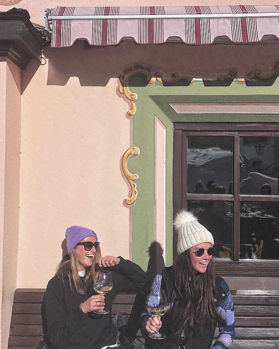 Sankt Anton am Alberg, wintersport Chloe Sterk Oostenrijk, alle tips. berghutten in Ski Alberg - Gasthof Post Lech