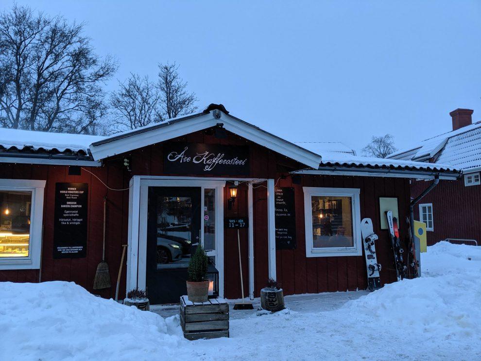 Beste koffie Åre Kafferosteri - Wintersport Åre Zweden - beste skigebied van Zweden