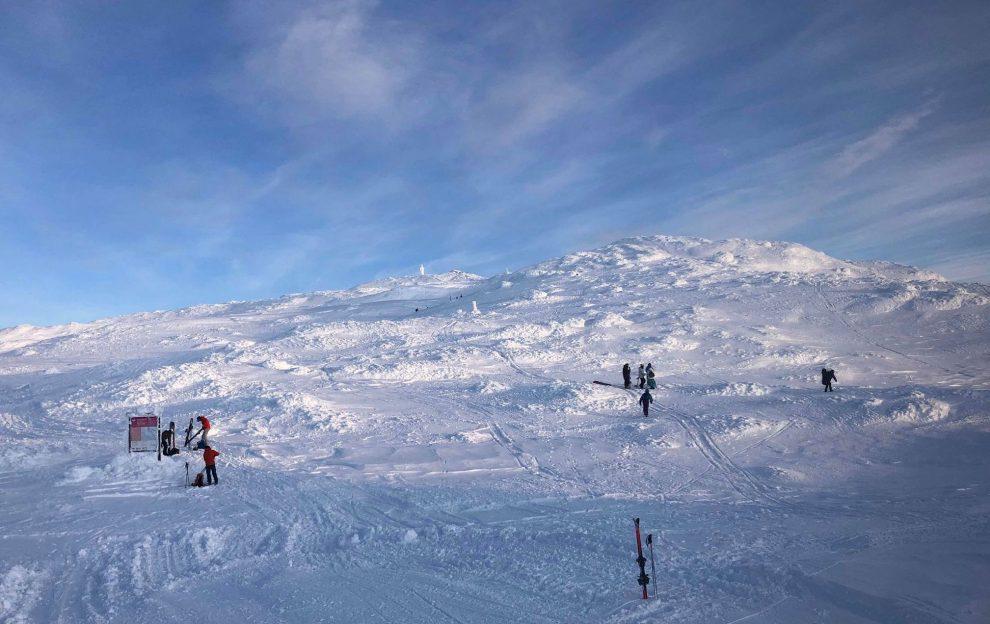 Skistar freeride offpiste Åreskutan - Wintersport Åre Zweden - beste skigebied van Zweden
