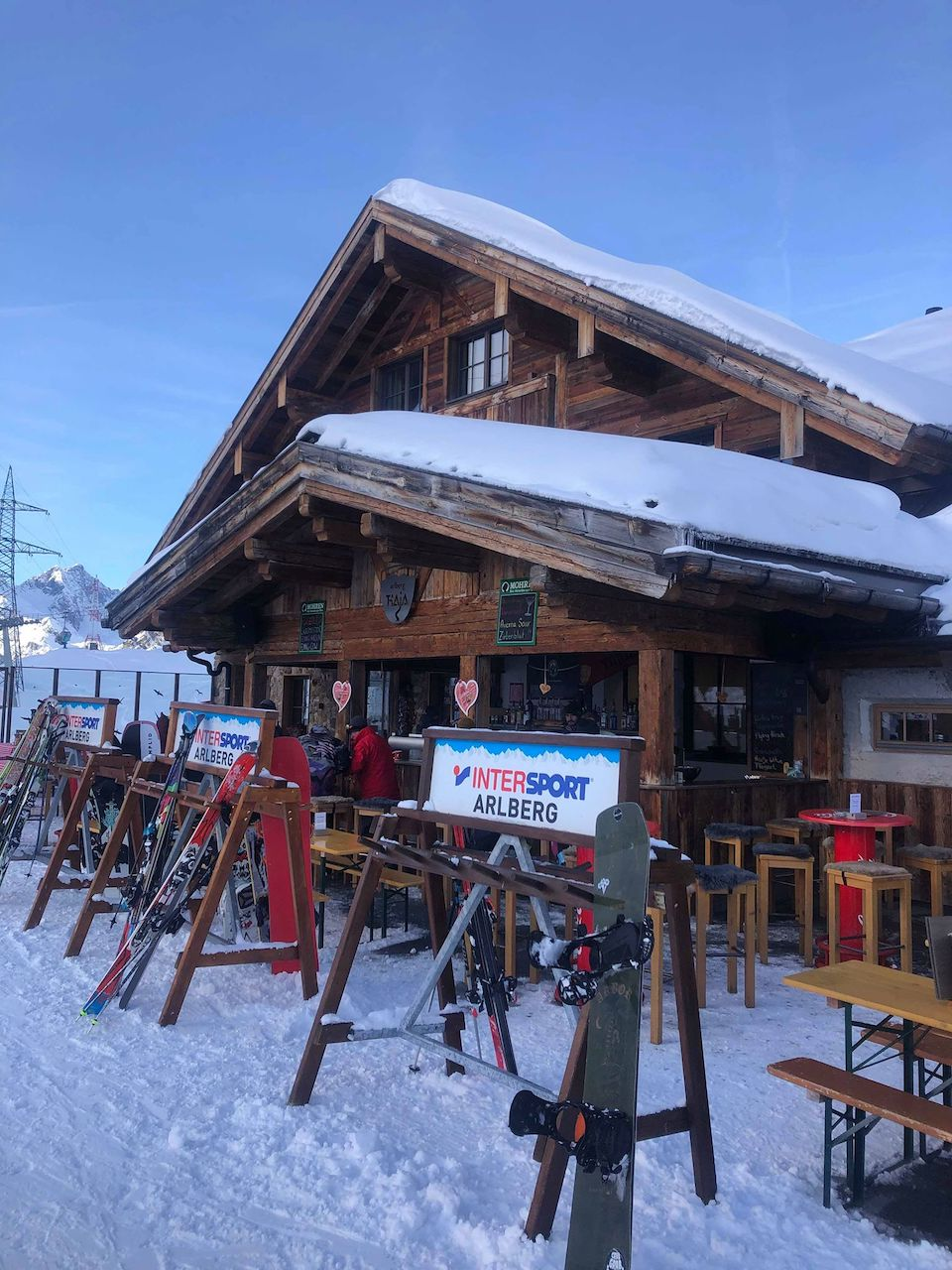 Sankt Anton am Alberg, wintersport Chloe Sterk Oostenrijk, alle tips. berghutten in Ski Alberg - Alberg Thaja