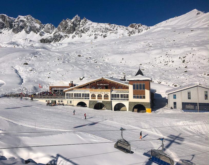 Ischgl ski - wintersport tips - Samnaun - wintersport map - skien in Oostenrijk en Zwitserland - berghut Alp Trida