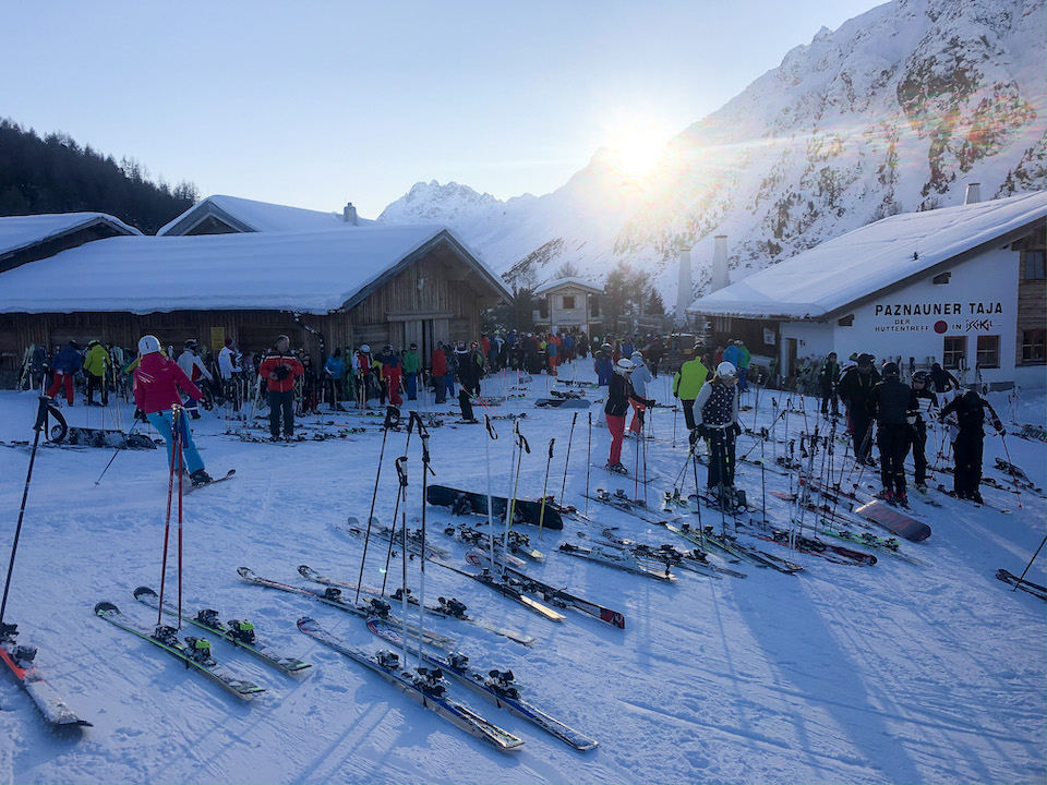 skien in Ischgl - wintersport - Après-ski en clubs inIschgl - Paznauer Thaya