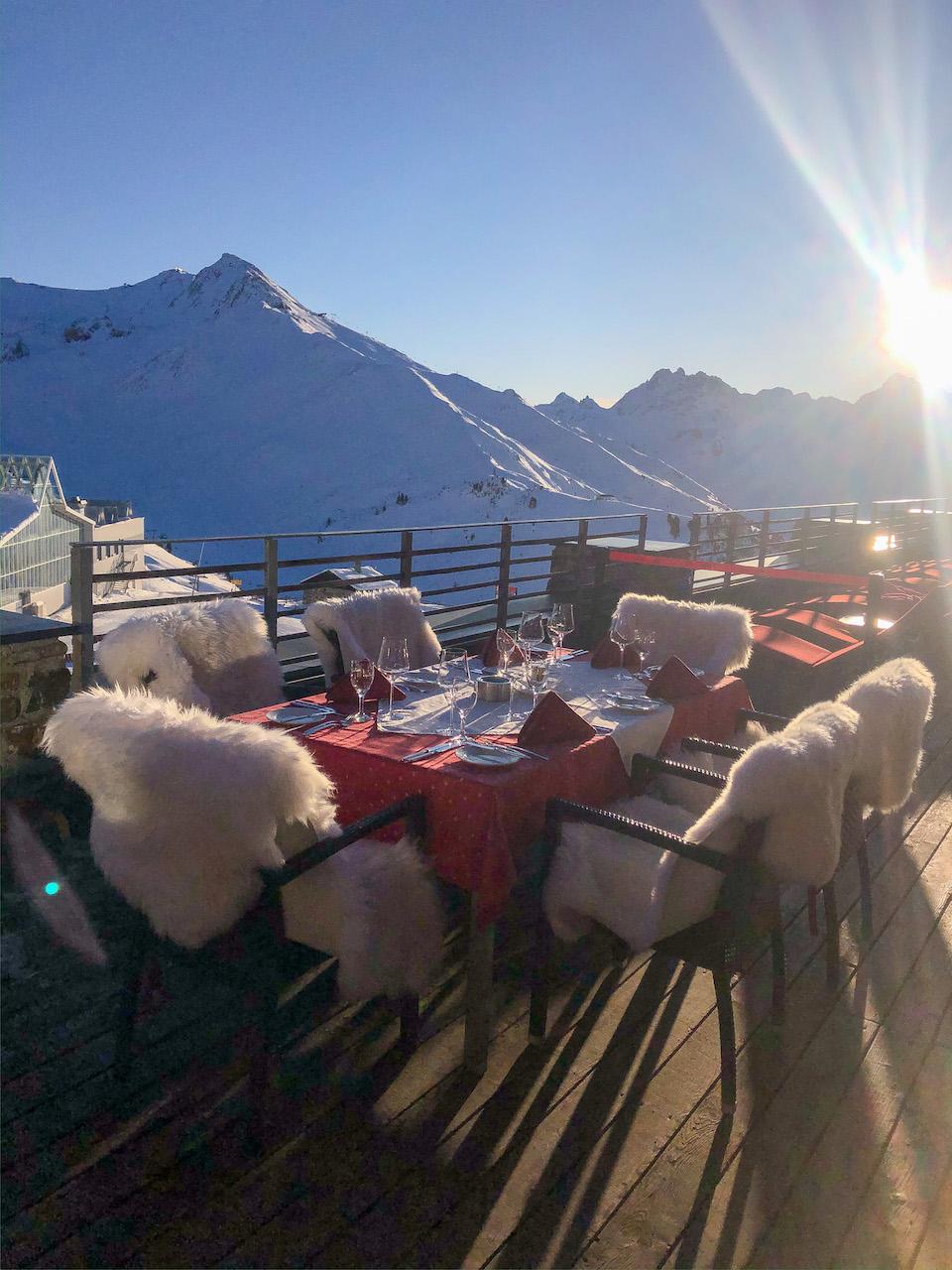 Ischgl ski - wintersport tips - Samnaun - Gault & Millau restaurant Alpenhaus - Mountainclub VIP lounge Ischgl