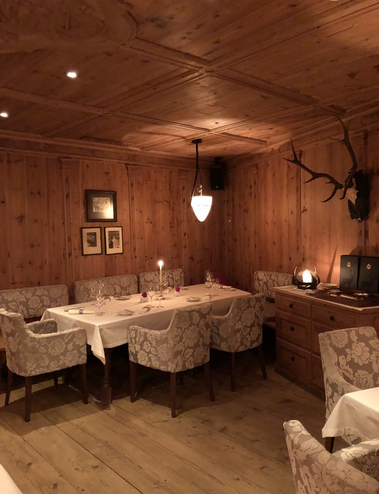skien in Ischgl - wintersport - Gault & Millau restaurants Ischgl - Schlossherrnstube