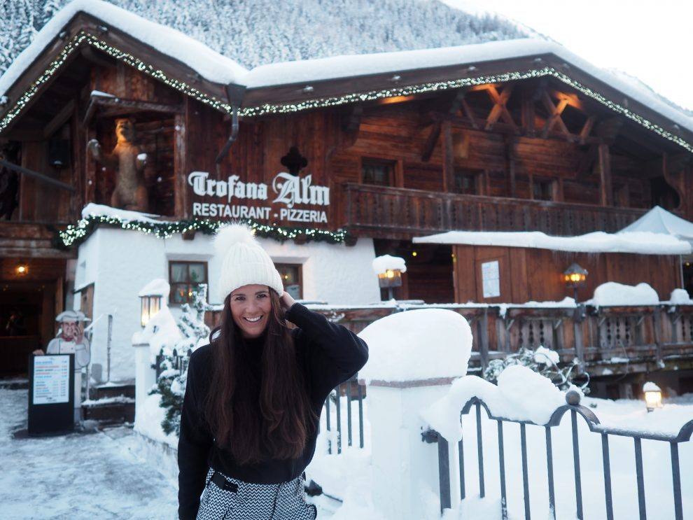skien in Ischgl - wintersport - Après-ski en clubs inIschgl - Trofana Alm