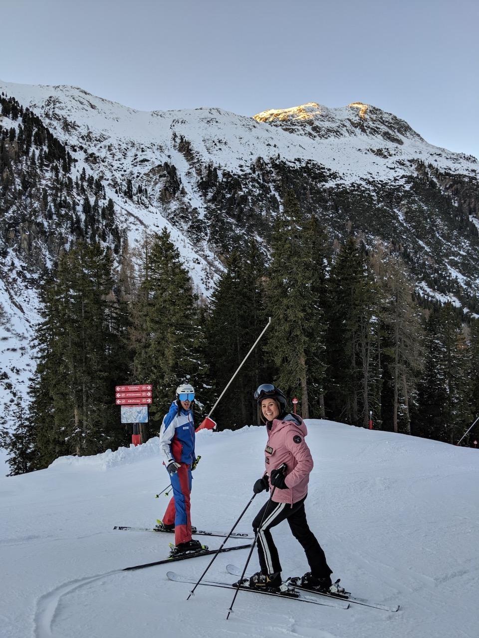 Ischgl ski - wintersport tips - Samnaun - skimap Ischgl - Schhmugglerrunden/ Smuggler's circuits - Mogasi and Choe Sterk
