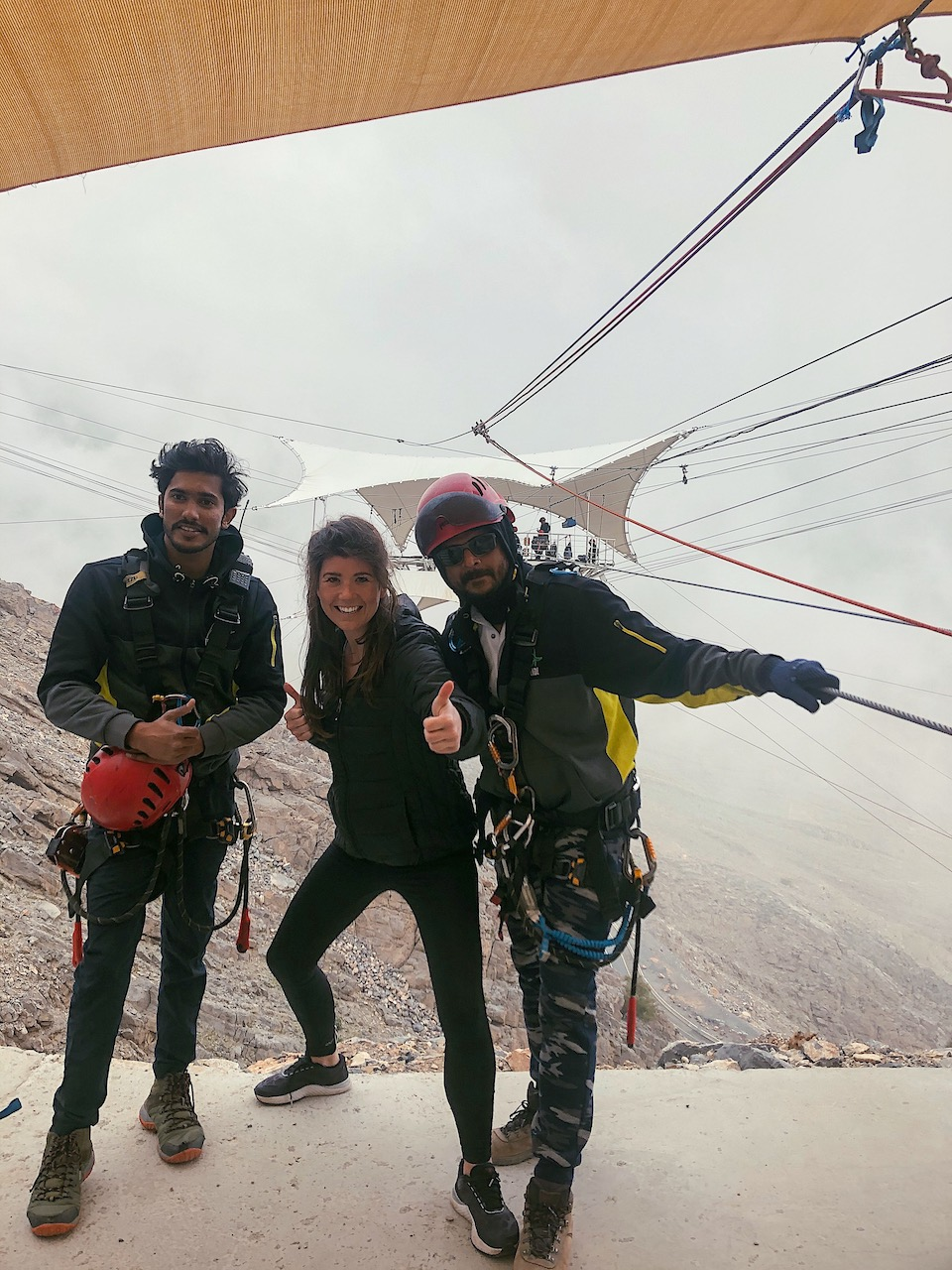 hiking trails jebel jais - Jebel Jais Flight: de langste zipline ter wereld in Ras Al Khaimah. Toroverde  Chloe Sterk