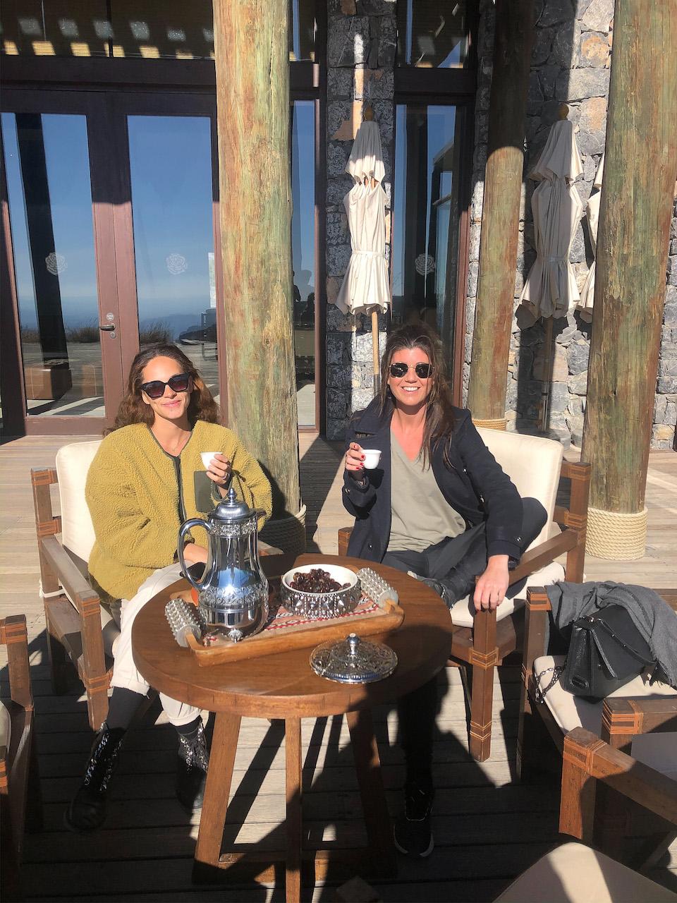 Alila Jabal Akhdar - Rondreis Oman 9 dagen tips - mooiste hotel van Oman - Chloe Sterk - Amandine Hach