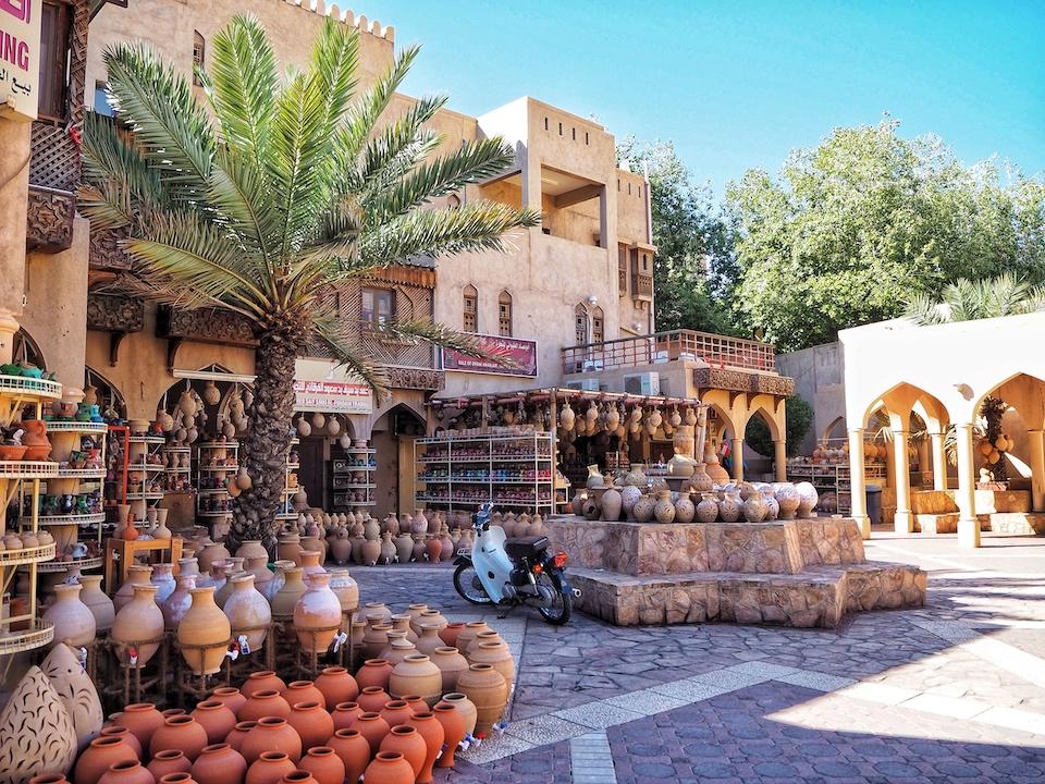 Nizwa - De woestijn van Oman, Wahiba Sands - de bezienswaardigheden en beste reisroute voor 9 dagen.