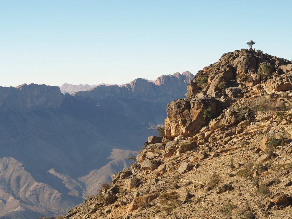 Jebel Shams, Balcony Walk - de bezienswaardigheden en beste reisroute voor 9 dagen.