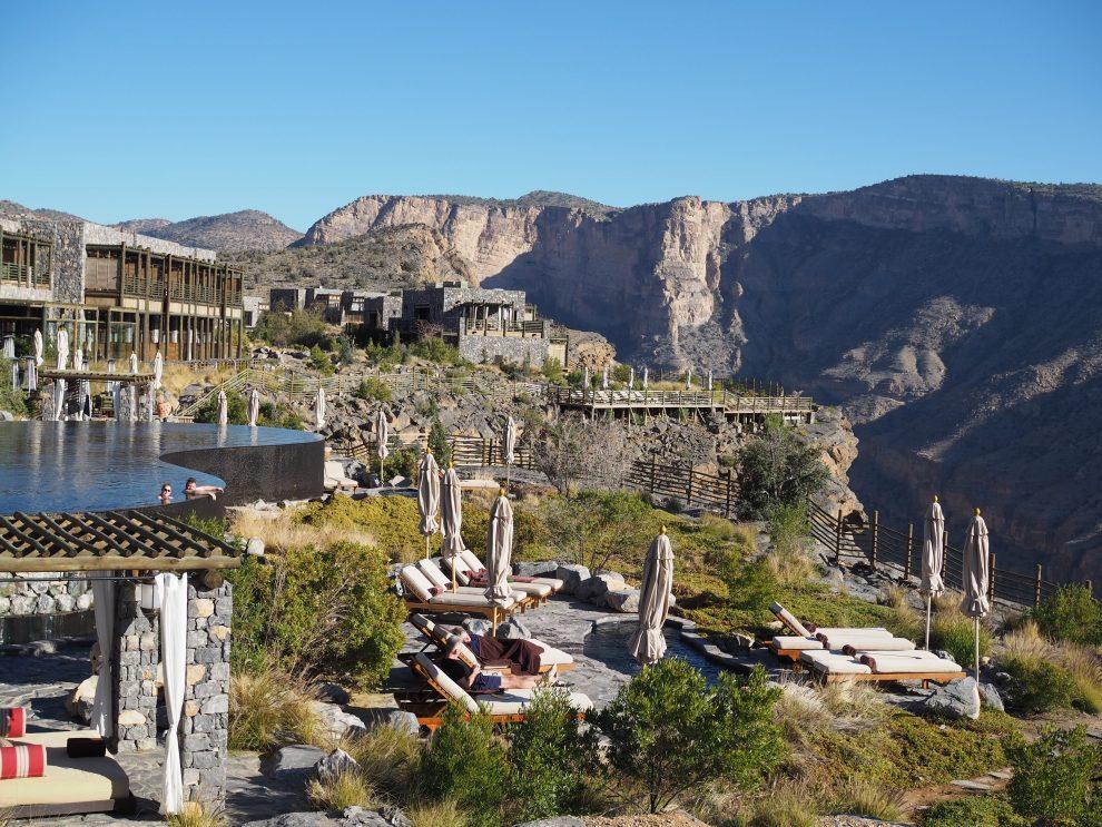Alila Jabal Akhdar - Rondreis Oman 9 dagen tips - mooiste hotel van Oman