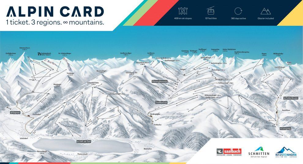 Wintersport Saalbach - Hinterglemm 2020 - Ski Alpin Card