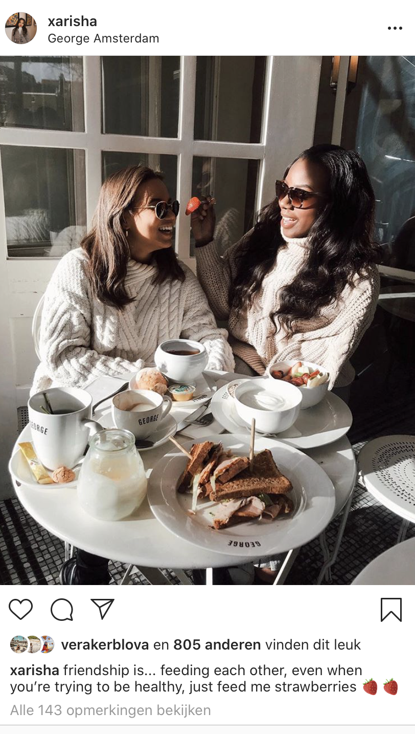 Interview Instagram nep, Amsterdam influencers