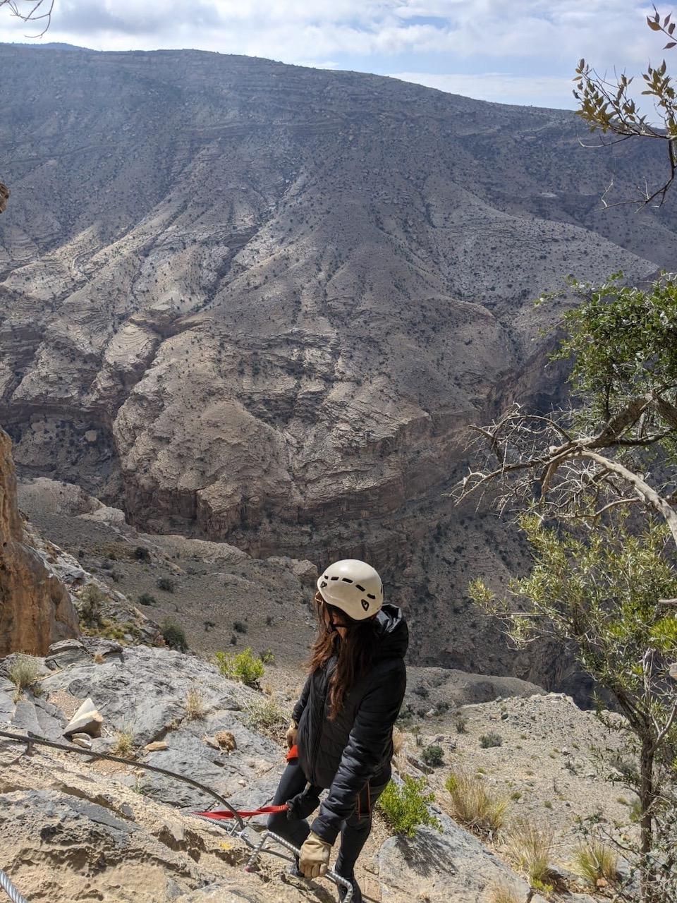 Alila Jabal Akhdar - Rondreis Oman 9 dagen tips - mooiste hotel van Oman - Via ferrata Oman