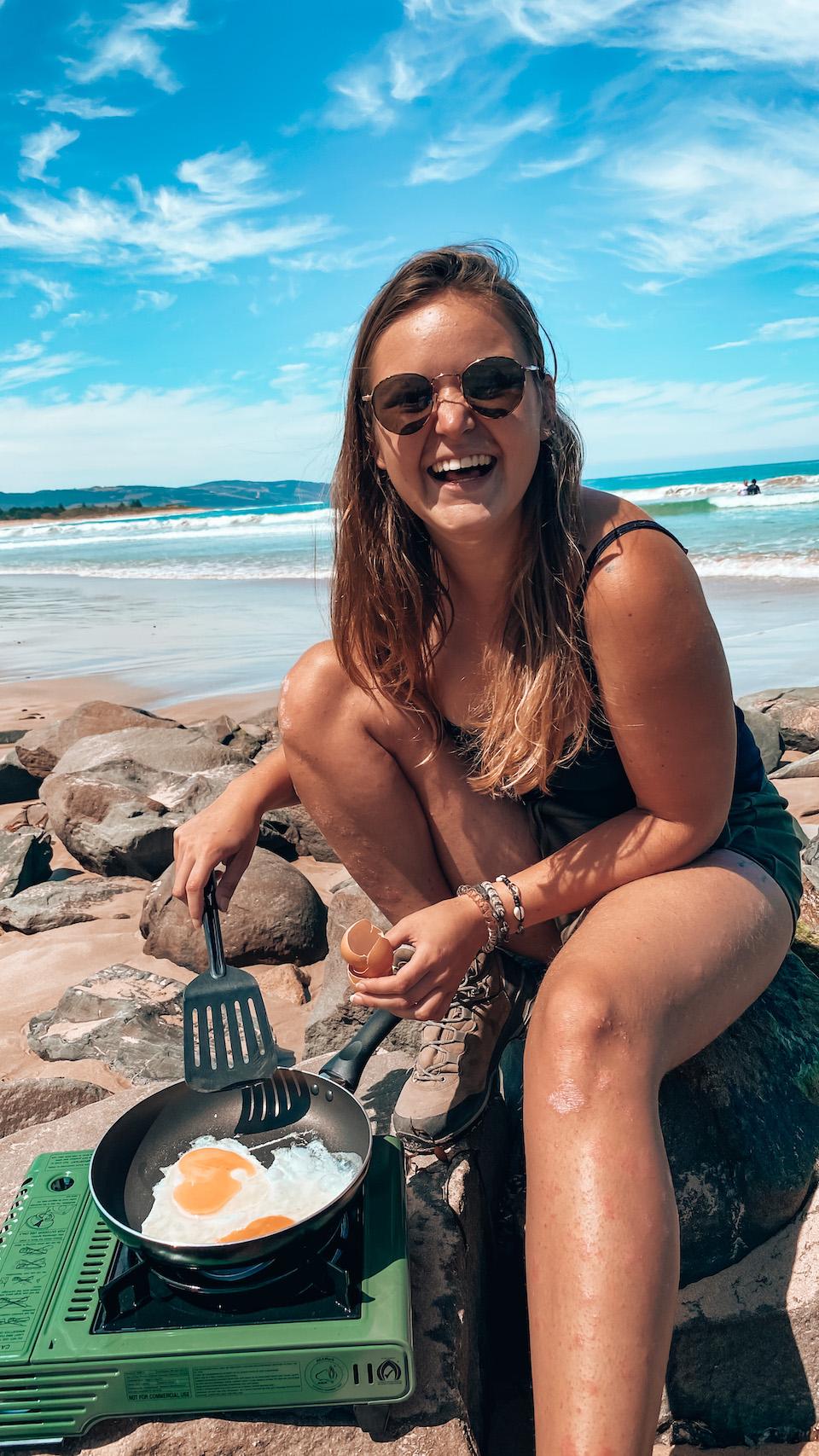 Marit van Groen op wereldreis in Australie