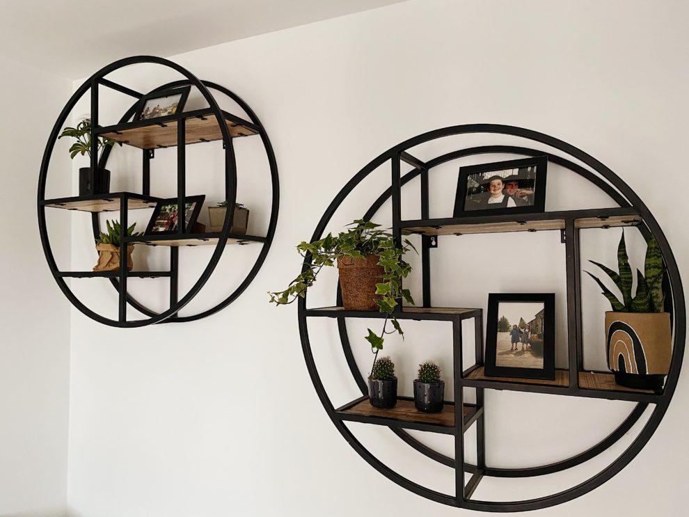 Interieur inspiratie met planten in een kast