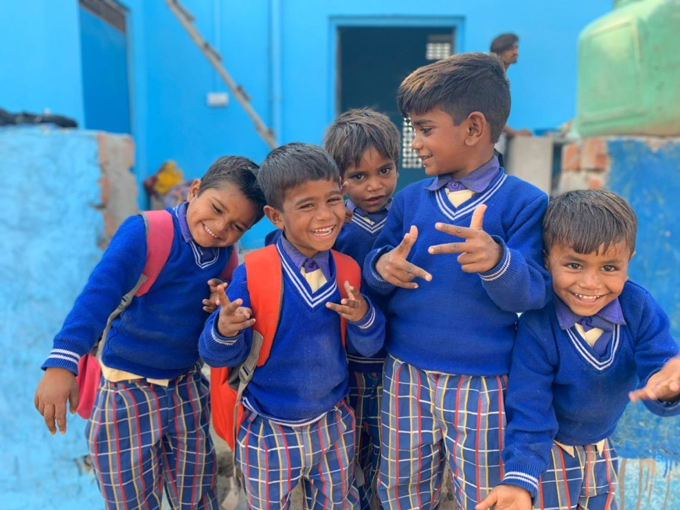 School kinderen in Rajasthan - Jaira Sona Chin - The Blue House Project