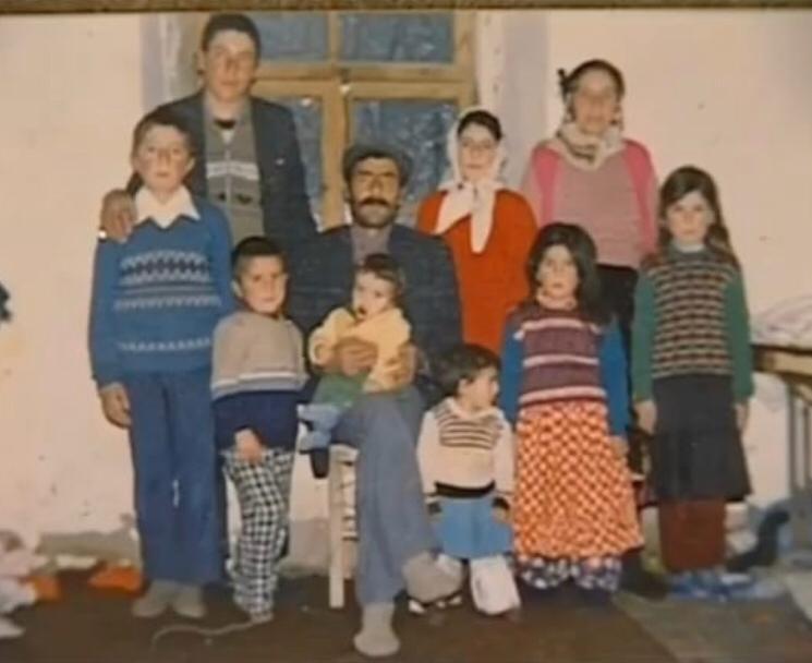 Traditioneel Koerdisch gezin