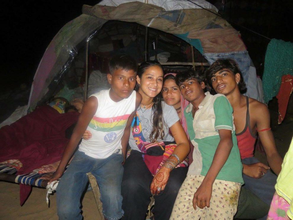 Tentenkamp in Rajasthan, de eerste nacht - Jaira Sona Chin - The Blue House Project