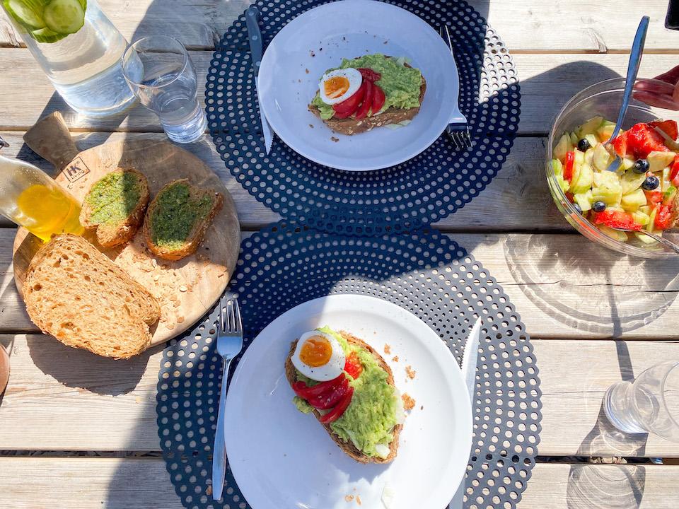 eten en drinken in TinyHouse - natuurhuisje op de veluwe