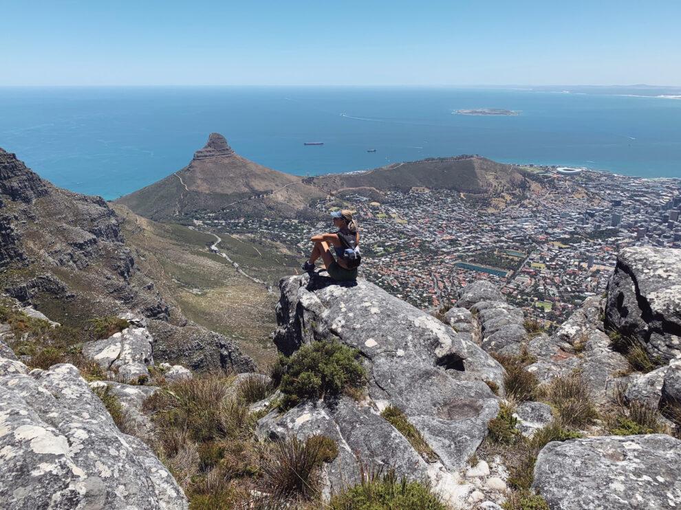 Outdoor artikel over wandelen - foto genomen in Zuid Afrika