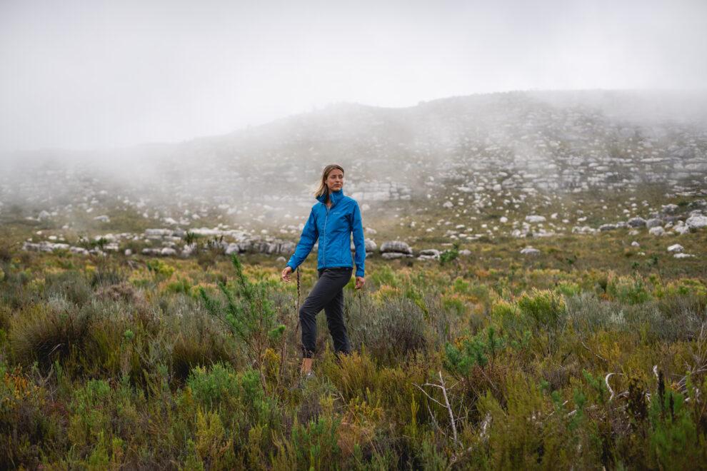 regen outfit voor een dag hike
